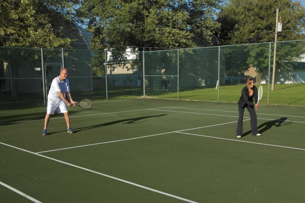 Tennis Courts in Grand Island